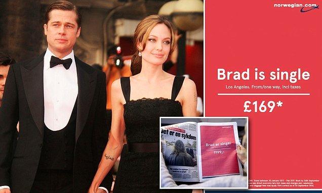 Norwegian Air Ad | Brad Is Single