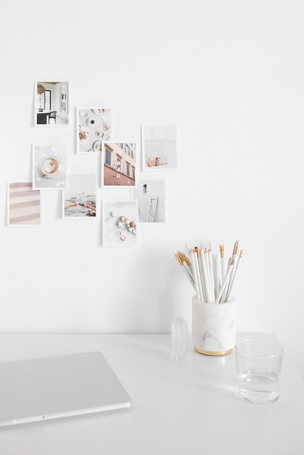 Pollyanna Consulting | Laptop and polaroids